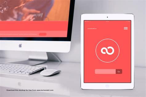 4 photorealistic iPad Mockups   MockupWorld