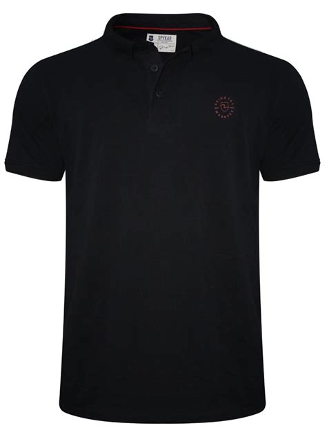 T Shirt Menu Black buy t shirts spykar black polo t shirt mkt 01ag