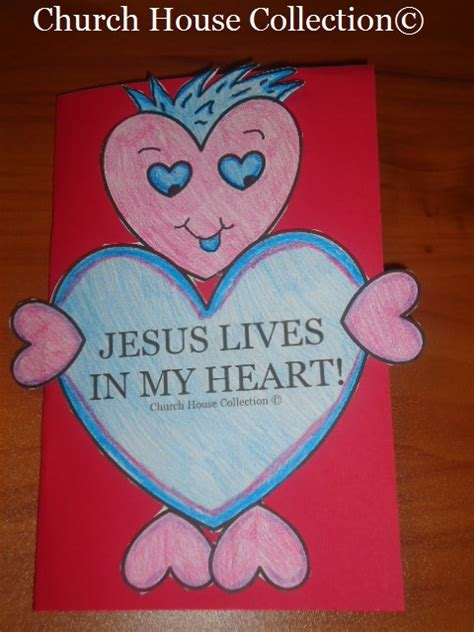 day crafts for sunday school church house collection s day card