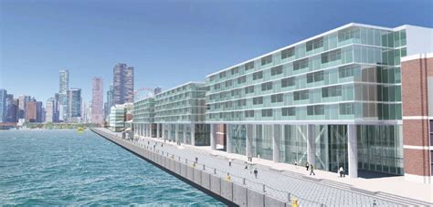 Apartment Near Navy Pier Chicago Navy Pier Officially Reveals Proposed Hotel Lake Michigan