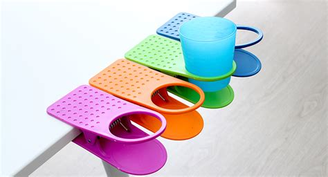 Table Cup Holder by 2 82 Clip On Table Cup Holder 1 Pack Assorted Color