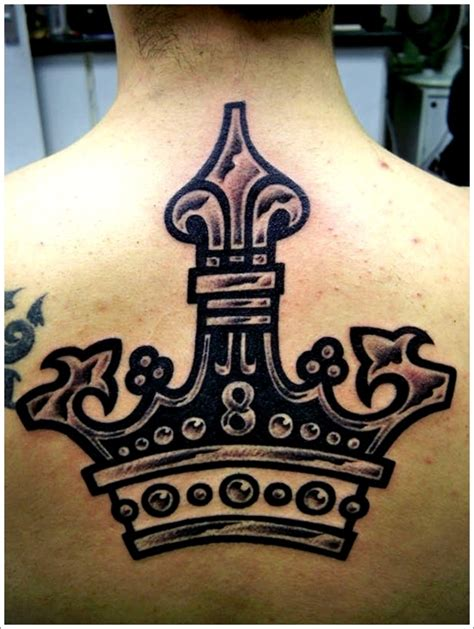 tribal crown tattoo tribal king and crown tattoos
