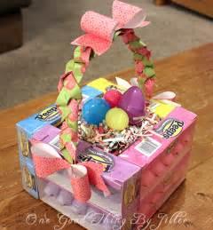 easter basket ideas edible easter basket one good thing by jillee