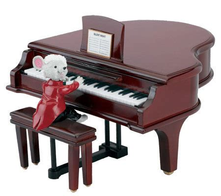 mr christmas maestro mouse with grand piano page 1