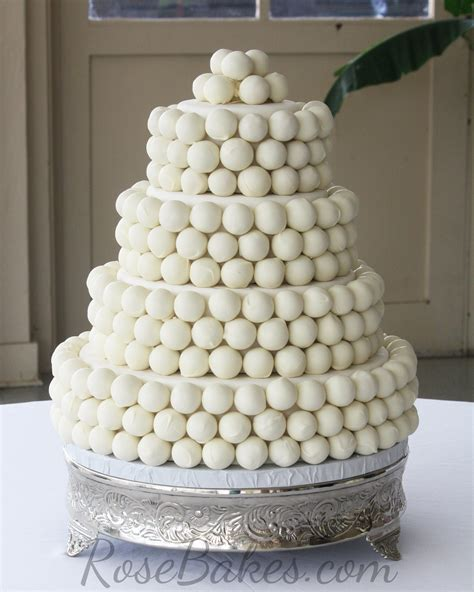 Wedding Balls by How To Make A Cake Wedding Cake Bakes