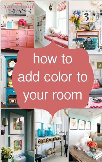 how to add color to a room diy how to add color to your room easy ways to do