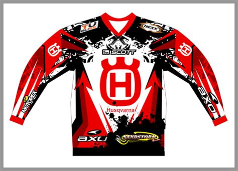 personalized motocross jersey clothing
