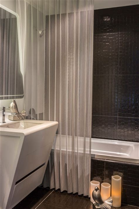 make your bathroom gorgeous with bathroom shower curtains 5 steps to make your small shower look bigger without