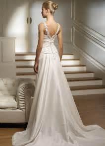 Simple elegant wedding dresses second wedding dresses trend