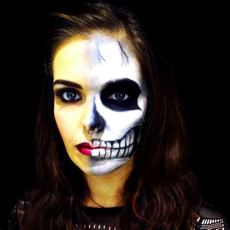 imagenes de halloween para pintarte la cara maquillaje para halloween de miedo