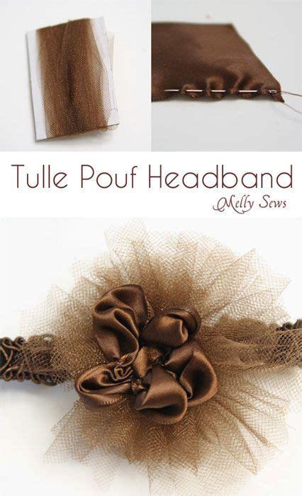 organza headband tutorial 17 best ideas about tulle headband on pinterest diy hair