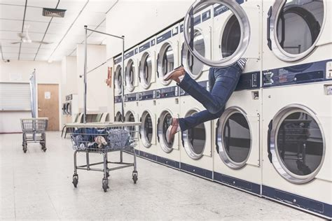 looking for a solution for hanging pictures on your tv free images people woman laundromat interior design