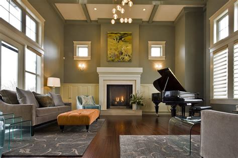 living room with piano piano in living room living room contemporary with yellow