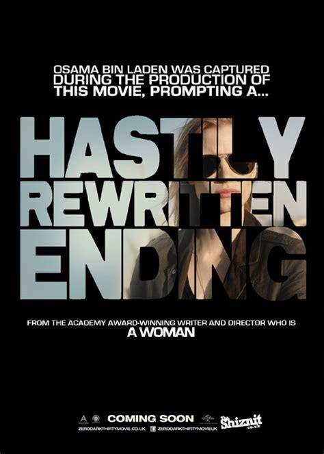 film gratis zero dark thirty if 2013 s oscar nominated movie posters told the truth