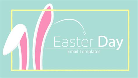 fun easter email templates just hatched