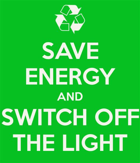 mass save light bulb offer save energy and switch off the light poster nj keep