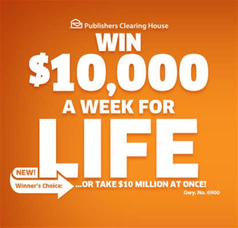How To Sweepstakes For A Living - pch 10 000 a week for life sweepstakes