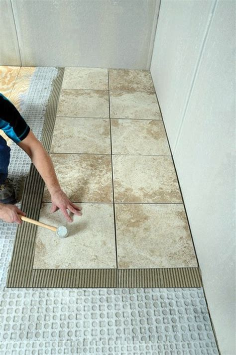 laying tile in bathroom lay bathroom tiles correctly a few professional tips for