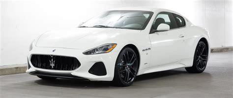 maserati coupe white 2018 maserati granturismo granturismo sport 2dr car in