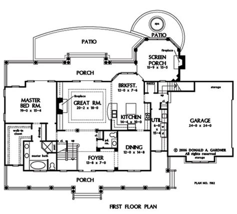 donald a gardner architects house plans donald a gardner architects house design ideas