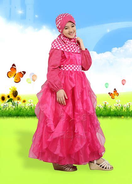 Baju Pesta Muslim Anak Perempuan trendysturvs