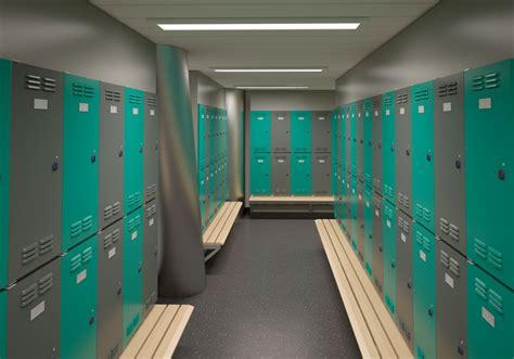 locker room design gdf suez cygnus alpha showcase arcadion