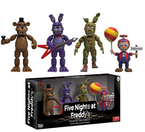 five nights at freddy s figures funko reveals five nights at freddy s collectibles the