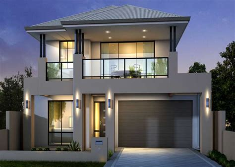 house plans with balcony two storey house plans with balcony with glass railing