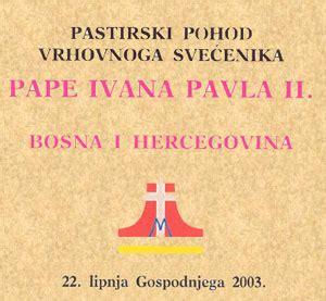 ufficio celebrazioni liturgiche presentazione bosnia ed erzegovina 22 giugno 2003