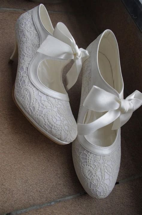 Handmade Wedding Shoes - wedding shoes handmade salsa lace wedding shoe 7011