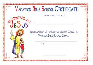 free printable vbs certificates search engine at
