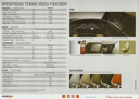 Harga Mt 2 daftar harga isuzu daftar harga isuzu panther smart 2 5 mt