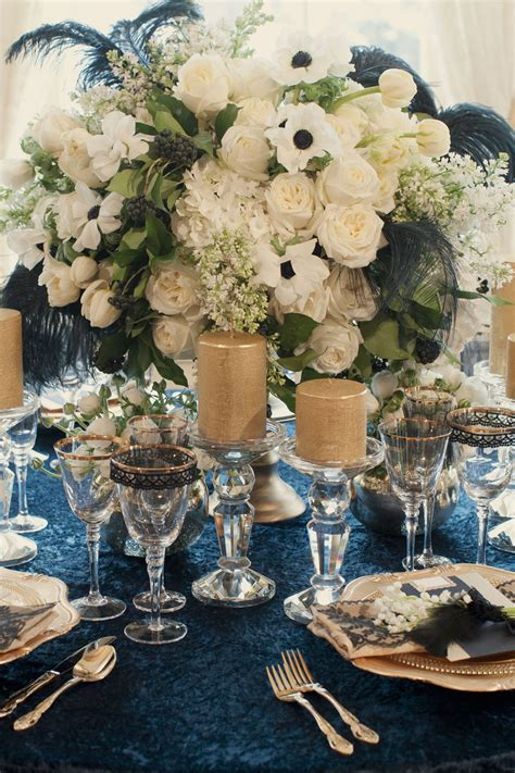golden wedding table decorations uk navy and gold colour palette is so sophisticated and a