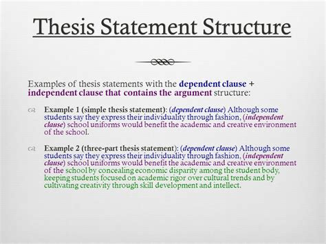 a thesis statement exle thesis writing exle 28 images 100 dissertation problem