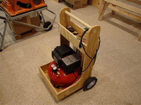 plans to build air compressor cart pdf plans