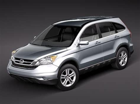 Honda Suv Models by 3d Model Honda Crv Cr V Suv