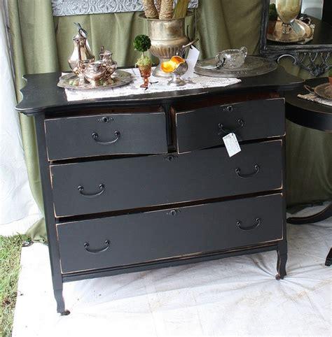 Big Black Dresser by Distressed Black Dresser For The Home