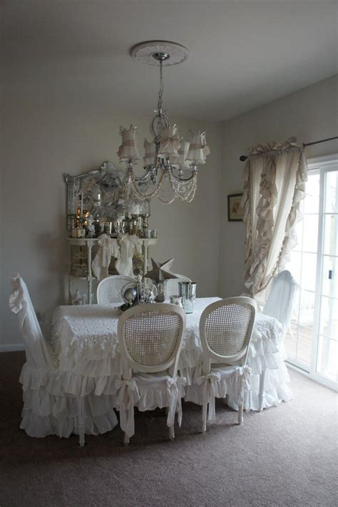 shabby chic dining room country decorating