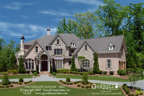 Manor Home Plans by Ashland Manor 3802 House Plans By Garrell Associates Inc