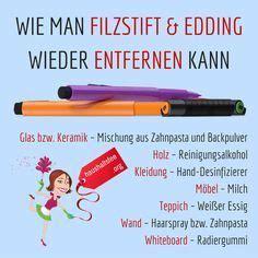 Filzstift Fleck Kleidung Entfernen by Edding Und Filzstift Entfernen Beste Tipps
