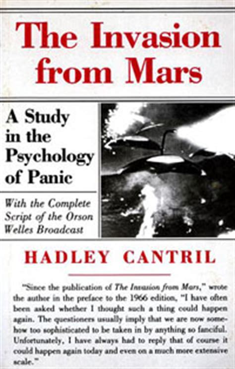 the from mars a study in the psychology of panic books les guerres psychologiques ou comment convaincre l