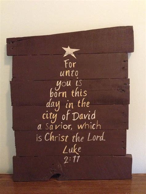 items similar to bible verse tree luke 2 11 on etsy