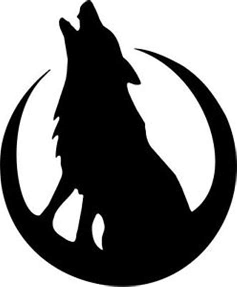 Embossing Templates Card Making - die cut silhouette howling wolf amp moon x 12 card making scrapbook crafts ebay