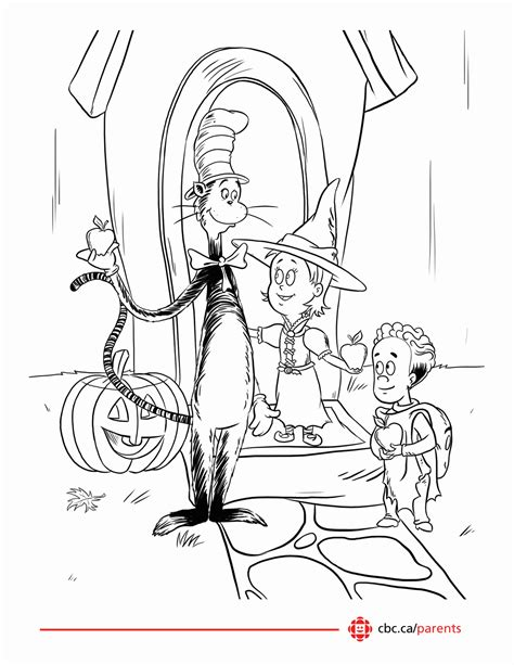 the hat coloring page printable coloring pages cat in the hat coloring home