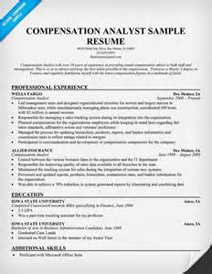 Compensation And Benefits Manager Sle Resume by Compensation Analyst