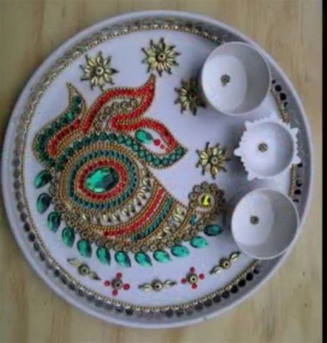 17 Best images about Pooja Thali on Pinterest   Dry fruit