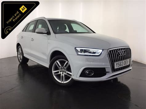 used white audi q3 for sale leicestershire