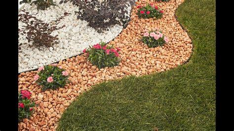 decorare il giardino coi sassi video guida aiuola fol 233 nde giardini in pietra naturale