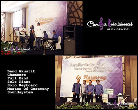 Sewa Band Wedding Jakarta by Band Akustik Gathering Event Wedding Jakarta Cherbie