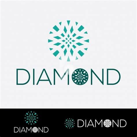 design logo diamond fotonium